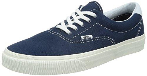 Vans Classic Era Sneaker Skater Unisex New ZMSF64 Canvas Blue, Numero di Scarpe:EUR 42