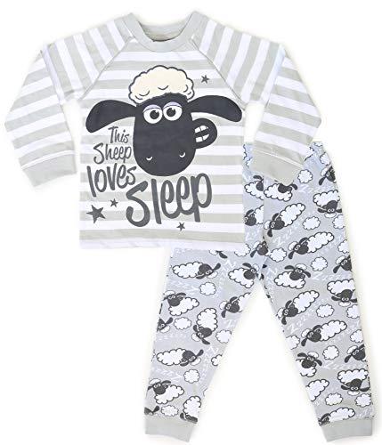 Shaun The Sheep Pijamas Infantiles Niño | Pijama Manga