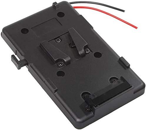 Fomito Adattatore piastra batteria BP V-Lock V-Lock V-Lock, uscita D-tap da 14,4 V a 16,8 V