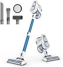 ORFELD Cordless Vacuum Cleaner with 1.4L Big Dustbin, Unique-Design Storage Base Hardwood Floor Vacuum, Cordless Stick Vacuum for Pet Hair