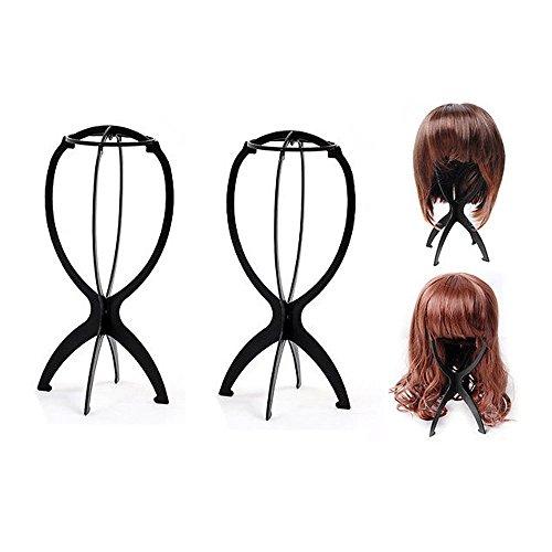 Ardisle 3 Pack - Perücke Display Ständer Mannequin Dummy Kopf Hut Cap Haarhalter Foldable