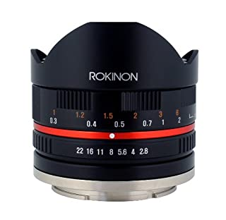 Rokinon 8mm F2.8 UMC Fisheye II (Black) Fixed Lens for Sony E-Mount (NEX) Cameras (RK8MBK28-E) (B00JD4TA7I) | Amazon price tracker / tracking, Amazon price history charts, Amazon price watches, Amazon price drop alerts