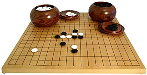 Go Game Set with 8mm Stones by Worldwise Imports
