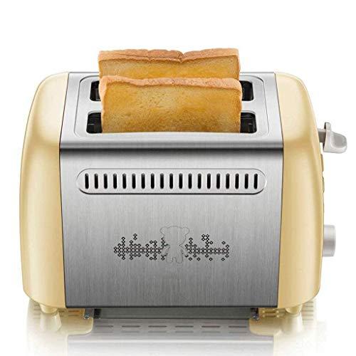 Máquina de Pan Máquina de Pan de Desayuno, Máquina de Pan de Acero Inoxidable, Máquina de Pan programable con dispensador de nueces de Fruta, Bandeja de cerámica Antiadherente