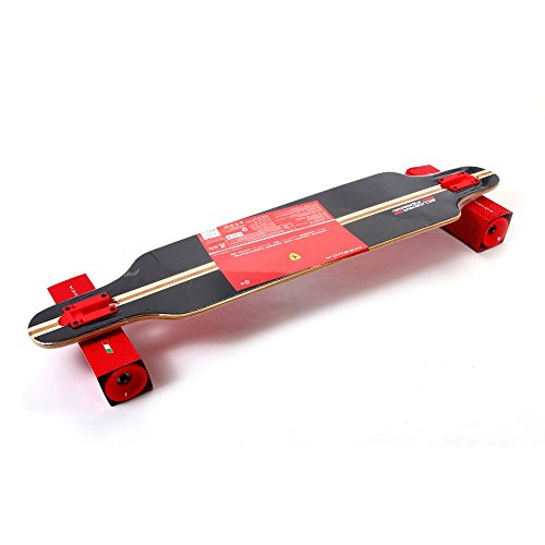 Ferrari Longboard Skateboard FBW15 Deckmaterial Bambus Länge 103cm ABEC 7 Rollen NEU