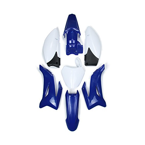 ABS Plastic Fender Fairing Body Work Kit Set For Yamaha TTR110 Dirt Pit Bike