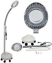 3-farbig beleuchtete Lupenleuchten 5-Dioptrien-Lupenglas LED-Lupenleuchte mit Klemme verstellbare Schwenkarmleuchte f/ür Table Craft oder Workbench superhelle dimmbare
