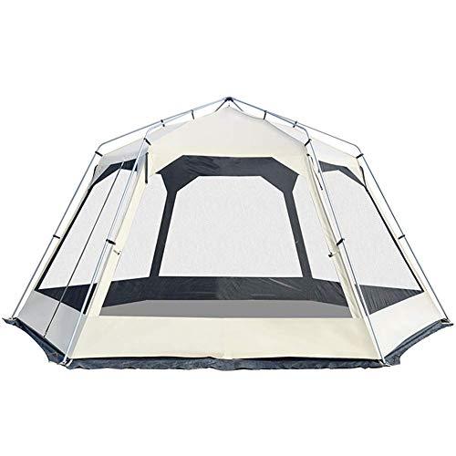 屋外のキャンプテント、8-10人家族のテント、ビーチのハイキング旅行の登山のための100%防水防止された抗紫外線ドームテント
