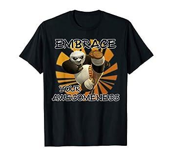 Kung Fu Panda Embrace Your Awesomeness Po Portrait T-Shirt