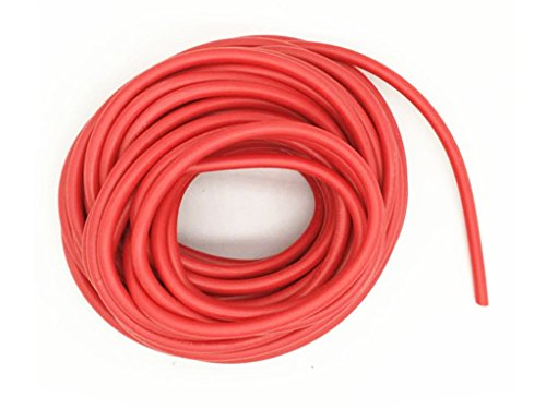 XJS Electric Copper Core Flexible Silicone Wire Cable Red (22AWG 40KV) (5M)