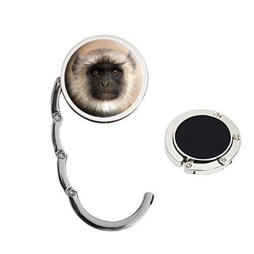 Langur Monkey - Bolso de mano (metal, ideal para regalo de cumpleaños, N54)