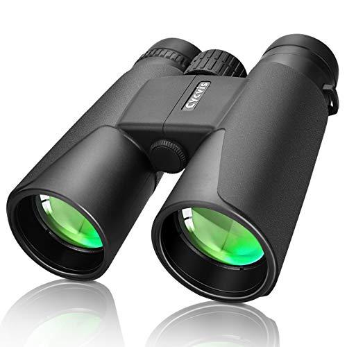 Cheapest Price! Binoculars for Adults - 10x42 Professional HD Binoculars Durable Full-Size, Binocula...