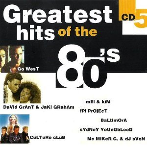 18 big hits from the eightees (george baker selection santa lucia by night / jellybean the real thing / fpi project rich in paradise / scotch disco band / king mc what have i done for you lately / go west we close our eyes / david grant & jaki graham mated / fun fun hit mix (incl. Happy station color my love baila bolero give me your love) / adeva recpect etc. and more)