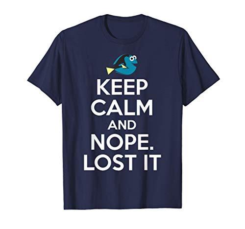 Disney Pixar Finding Dory Nope Lost It Graphic T-Shirt T-Shirt