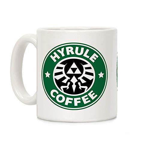 Eastlif aza de café de cerámica Blanca Hyrule Coffee