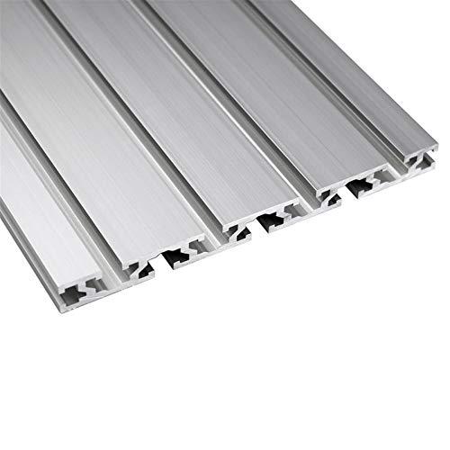 ZHANGAIGUO Linear Rail, 15180 Aluminum Profile Extrusion 100mm to 1000mm Length CNC Parts Anodized Linear Rail for DIY CNC 3D Printer Workbench 1PC (Color : 500mm)