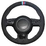 XQRYUB Coprivolante per Auto Fai-da-Te, Adatto per Audi A1 8X A3 8V Sportback A4 B8 Avant A5 8T A6 C7 A7 G8 A8 D4 Q3 8U Q5 8R