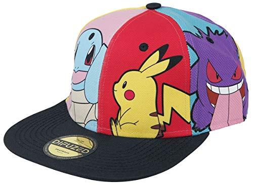 Nintendo Pokémon Charaktere Unisex Cap Multicolor one Size