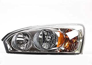 Fits 2004-2008 Chevrolet Malibu Headlight Driver Side DOT Certified Bulbs Included GM2502235 - Replaces 15851373 ;MAXX