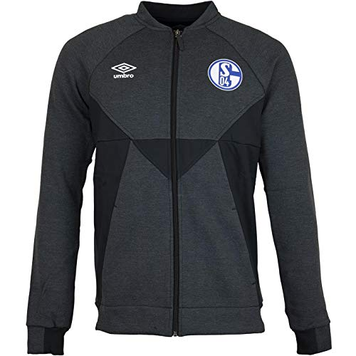 FC Schalke 04 Umbro Präsentationsjacke PR Jacke (M, schwarz)