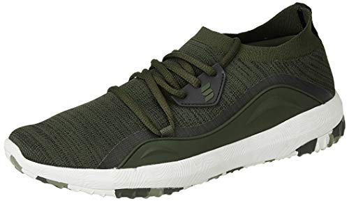 Amazon Brand - Symactive Men's Olive Running Shoes-8 UK (SYM-YS-012C)