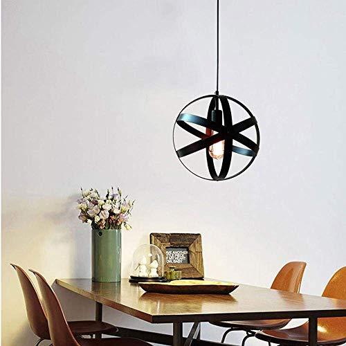 Plafondlamp retro kroonluchters industrie retro design plafondlamp woonkamer kelder plafondlamp kelder zwart LED 1 * E27 peer Fghjfdsafgf