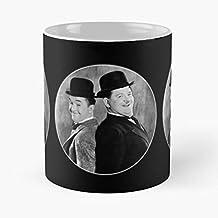 Promod Bowler Fine Double Silent Mess Comedy Act Comic Mime Gags Vaudeville Another Hat Best Mug Tiene 11oz de Mano Hechas de cerámica de mármol Blanco
