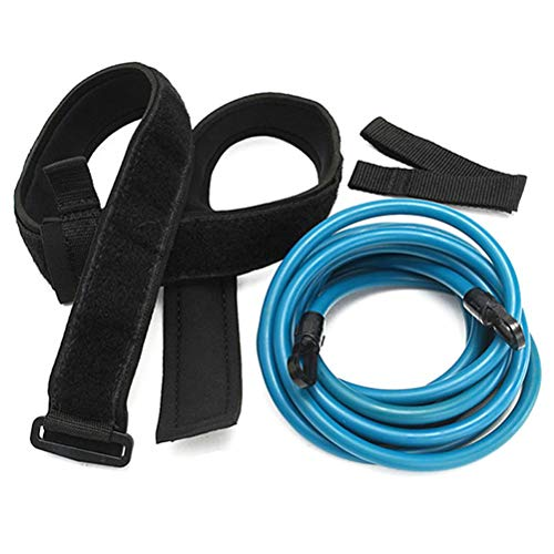 Linpu Swimming Training Belt, Resistance Belt, for Static Swimming, Swimming Harness, Resistance Rope, Bungee Strap