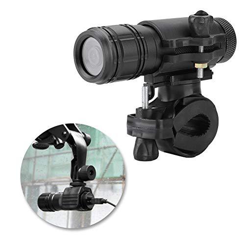 Diyeeni HD sportcamera helmcamera met houder, 8MP actiecamera waterdichte videocamera voor motorfiets fiets scooter, 120° groothoeklens camcorder voor buiten