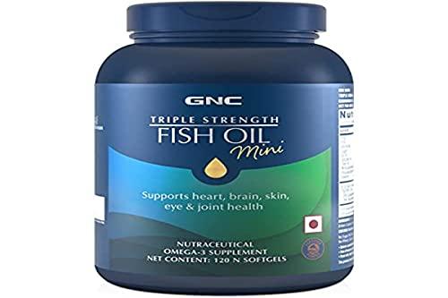 GNC Triple Strength Omega 3 Fish Oil 1000mg