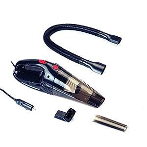 Auto Companion – Aspirador de 12 V para seco y húmedo con bolsa de transporte y herramientas
