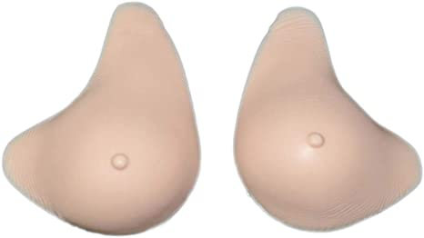 Softleaves MX100 Two Layers Triangular Breast Form Body Tap Breast Cover