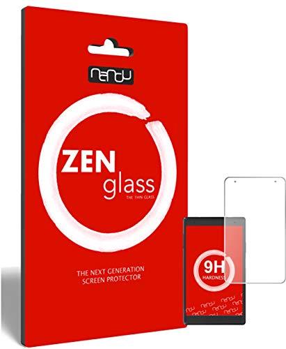 ZenGlass nandu I Flexible Glass Film compatible with Lenovo Tab4 8 Plus TB-8704F I Screen Protector 9H