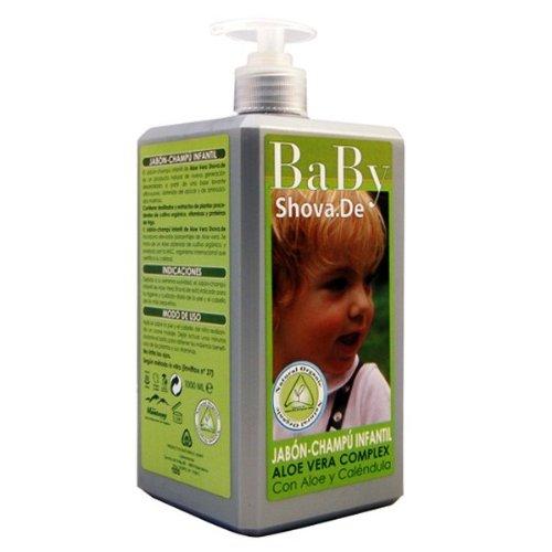 BABY SHOVADE jabon champu infantil aloe 1litro