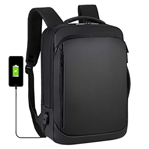 TOYS Laptop Backpack/Business Backpacks with USB Charging Port Water Resistant School Backpack 18 Inch College School Bag Casual Daypack for Men Women