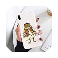 Mr.FrogソフトフォンケースFor iPhone12 12pro 12mini 11 12Pro Max X XS XR 6S 7 8plusかわいいカバーfprFor iPhone SE 2020coque用-6380-w-For 7plus or 8plus