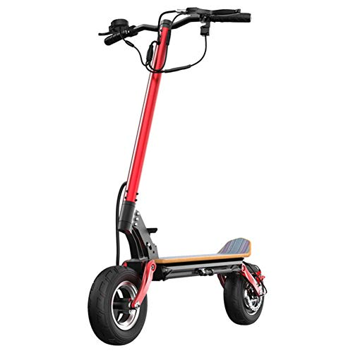 LYXQQ Plegable Scooter, Mini Scooter Eléctrico, 48V Bicicleta Recargable, 800 W De...