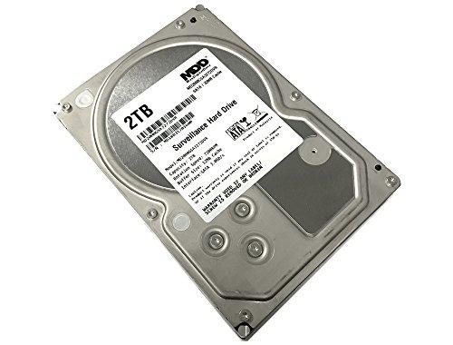 MaxDigitalData 2TB 32MB Cache 7200PM SATA 3.0Gb/s 3.5' Internal Surveillance CCTV DVR Hard Drive (MD2000GSA3272DVR) - w/ 2 Year Warranty