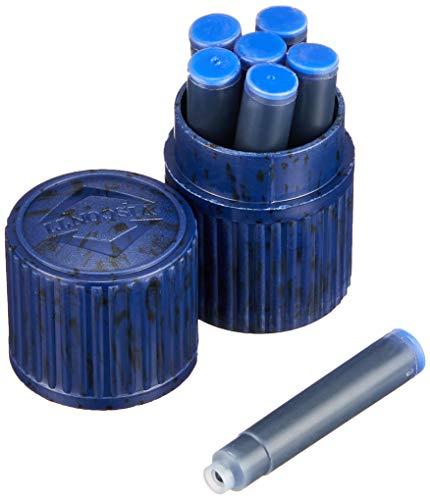 Visconti - Cartuccia d'inchiostro, confezione da 7, colore: Blu