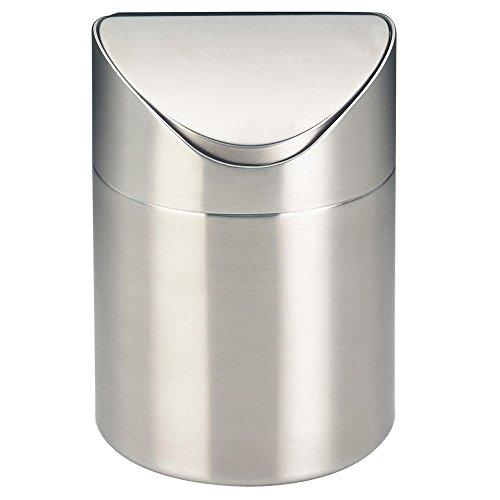 kela Kosmetikeimer Elegance 12x17cm aus Edelstahl in Silber, 100 cm x 200 cm