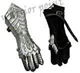 Medieval Nazgul Fantasy Gauntlets SCA Armor Gauntlets Gloves Iron with Exp Shipping Silver
