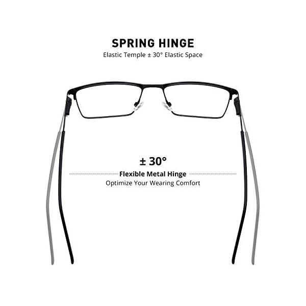 MERRY'S Men's Blue Light Blocking Glasses – Vintage Computer Reading Glasses for Men
