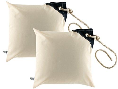 Marine Business Set fodere impermeabili per cuscino -40cm x 40cm - bianco crema