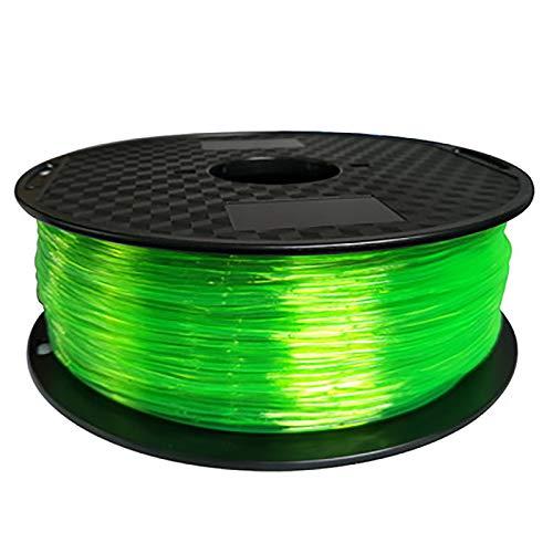 TPU Filament 1.75mm 3D Printing Filament TPU For 3D Printer, 1 Kg 1 Spool Of Printing Material, Transparent Red