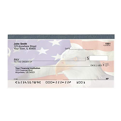 Soaring Over America Top Tear Value Priced Personal Checks (1 Box of Singles, Qty. 125)