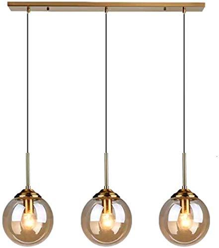 LLY cocina industrial barra 3 retro techo buhardilla luminaria cono de araña colgando lámparas de araña de cristal transparente lámpara del dormitorio pantalla de la vida,Amber