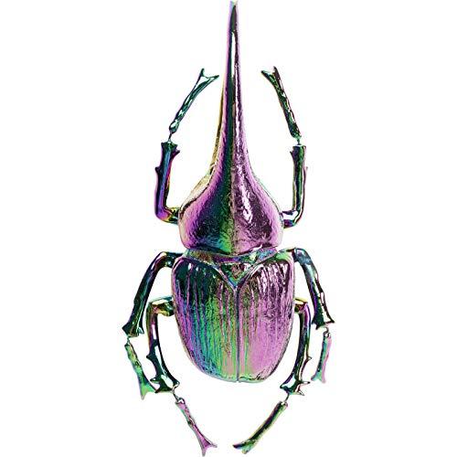 Kare Wandschmuck Herkules Beetle Rainbow, Lammfell, Grün