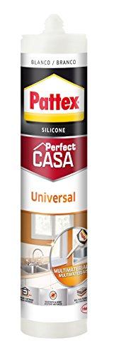 Pattex Universal Perfect Casa, silicona, interior y exterior, blanco, 280ml