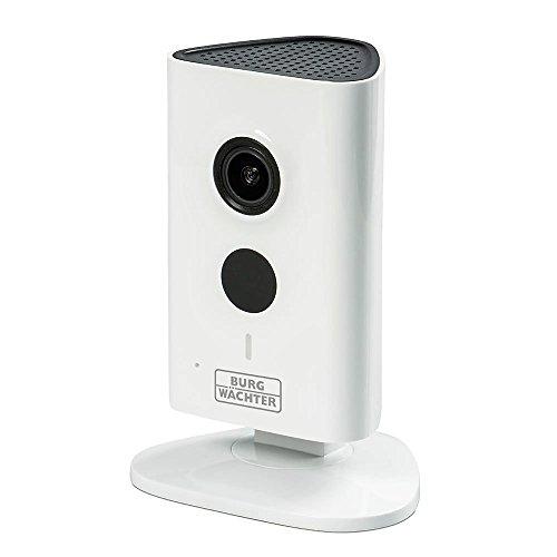 BURG-WÄCHTER Überwachungskamera mit Audio-Funktion, BURGcam Smart 3020, Weiß