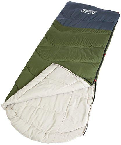 Coleman 1451148 Mudgee C5 Tall Sleeping Bag, Green/Grey